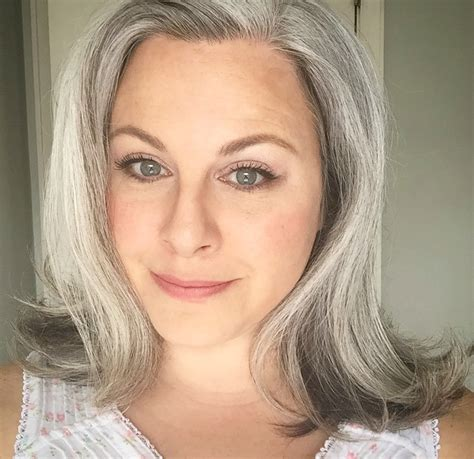 women in their 30s with gray hair how bourgeois gray hair posts