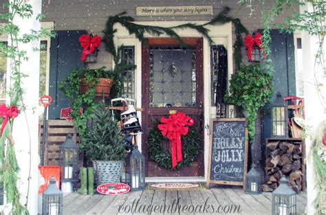 Porch Decorations For Christmas 20 outdoor christmas decorations ideas for christmas garlands and