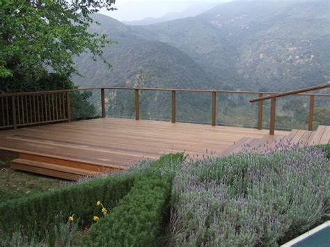 building a deck on a sloped backyard best 25 hillside deck ideas on pinterest