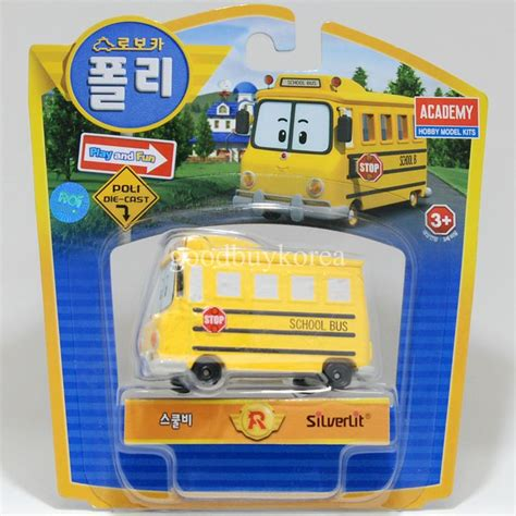 film robocar poli robocar poli die cast school bi school bus korea