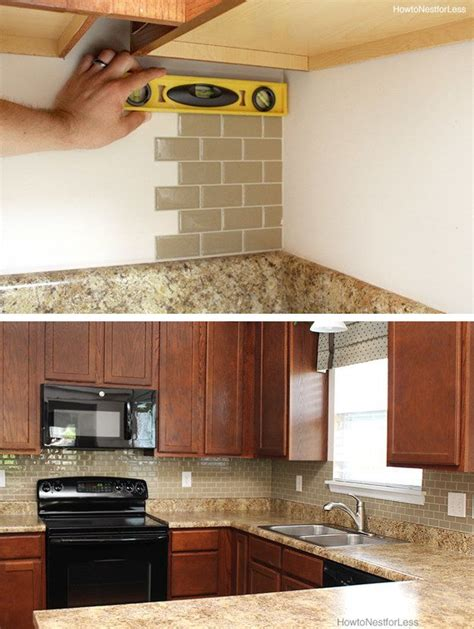 sticky backsplash for kitchen best 25 sticky tile ideas on kitchen