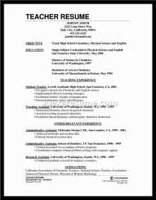 Resume For Teachers With No Experience Examples Resume Examples To Be A Teacher Alexa Resume