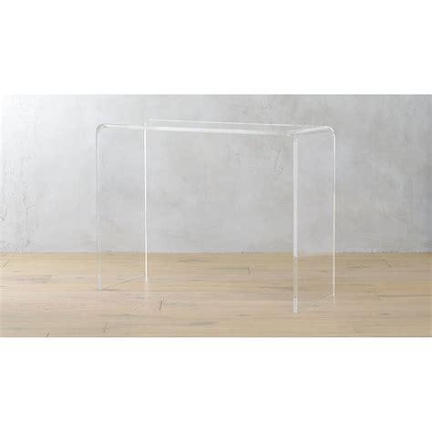 Acrylic Console Table Ikea Peekaboo 38 Quot Acrylic Console Table