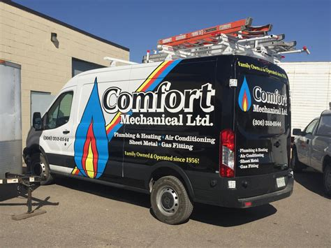 mechanical comfort about us plumbing and heating regina mechanical services