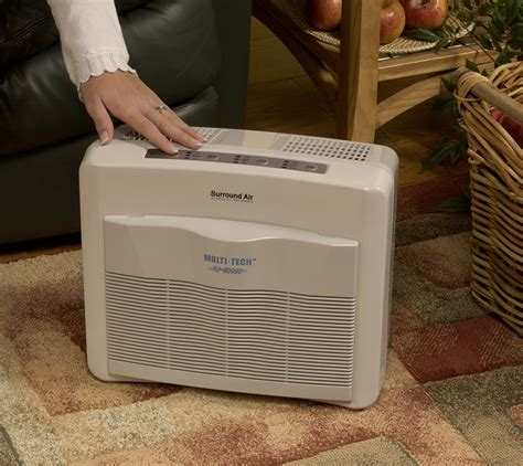 surround air multi tech xj 3000c air purifier with hepa carbon pre filter and
