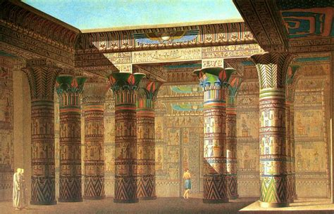 design   temple  isis  philae egypt travel