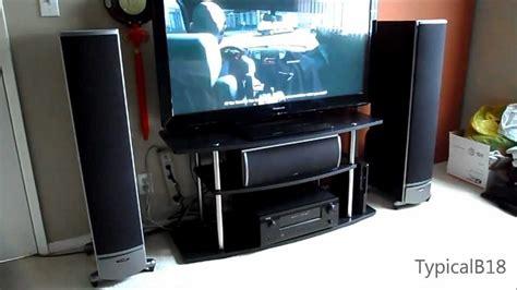 polk audio rti  home theater setup demo youtube