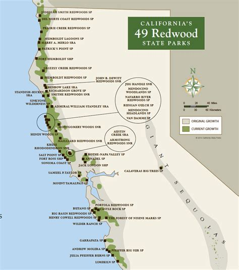 california map parks redwood parks day passes sold out 2015 save the