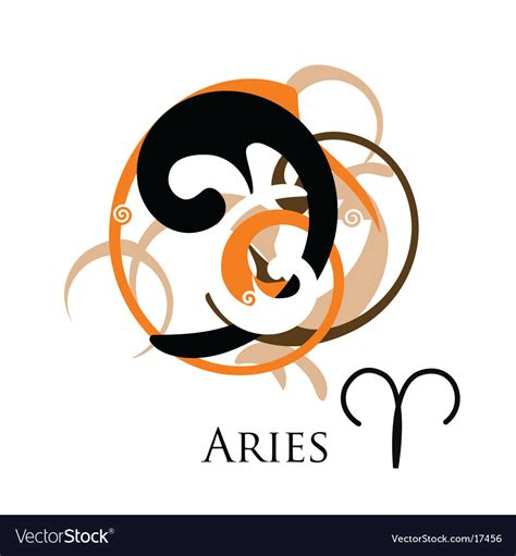 aries sign tribal royalty free vector image vectorstock sign zodiac aries royalty free vector image