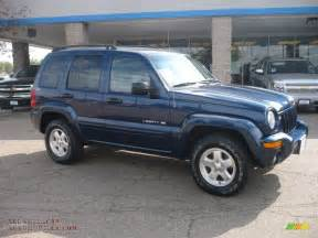 2002 jeep liberty limited 4x4 in patriot blue pearlcoat