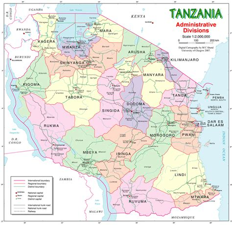 map of tanzania population census data tanzania infinite insight s research