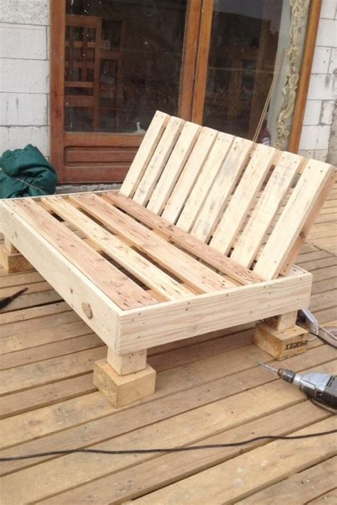 Made Of Pallets by Garden Furniture Made Of Pallets One Decor