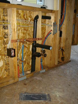 how to install pex pipe sink plumbing pex water lines drain waste vent sink install