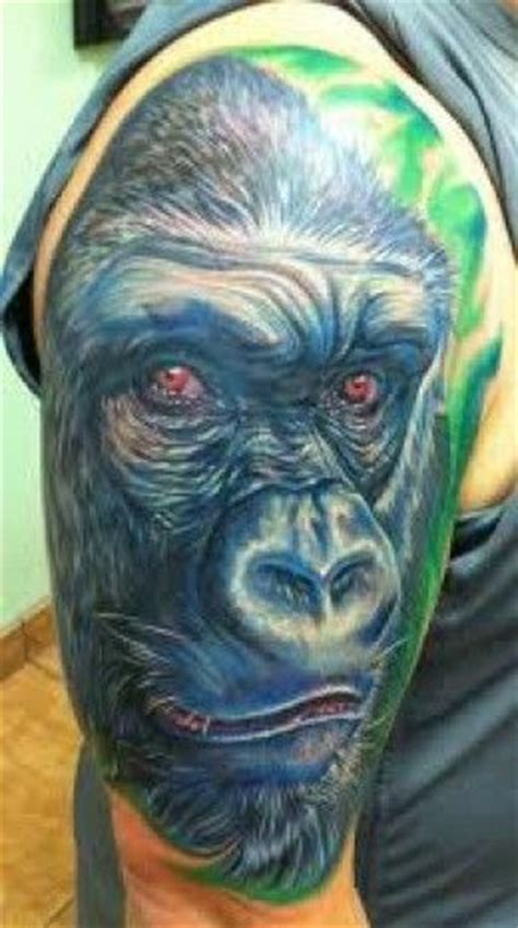 gorilla tattoo meaning 471 best ink images on ideas