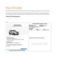 car insurance card template insurance company auto insurance template