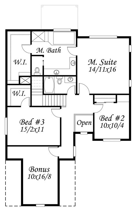 bell park house plan cottage house plans