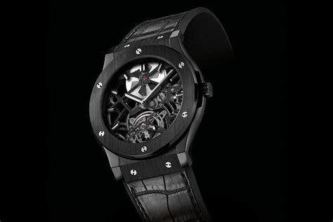 Omega Skeleton 3 All Black Chain hublot classic fusion malaysia