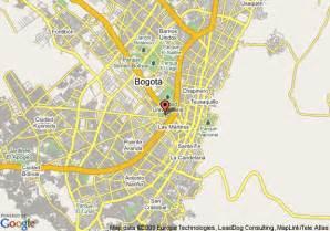 map of hotel bogota royal bogota