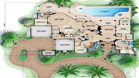 Luxury Beach House Plans | 3d house floor plans beach house floor plan luxury beach