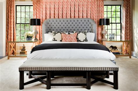 coral curtains for bedroom pink chevron curtains contemporary bedroom thom filicia