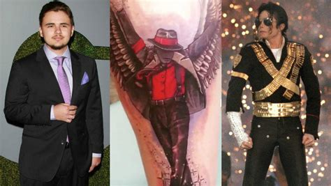 prince jackson gets jaw dropping tattoo honoring his late