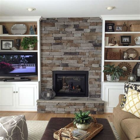 fireplace stacked how to create the stacked fireplace look on a budget