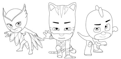 pj masks characters coloring pages top 30 pj masks coloring pages