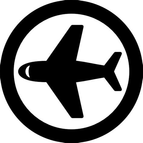 aerial transportation circular circle commerce airplane symbol distribution air