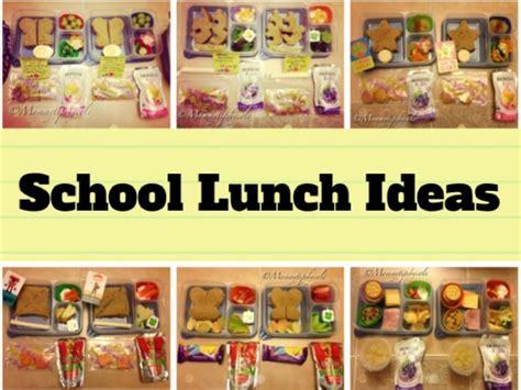box ideas for kindergarten 6 healthy bento lunches