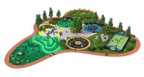 Playground Equipment Parks and Schools KOMPAN