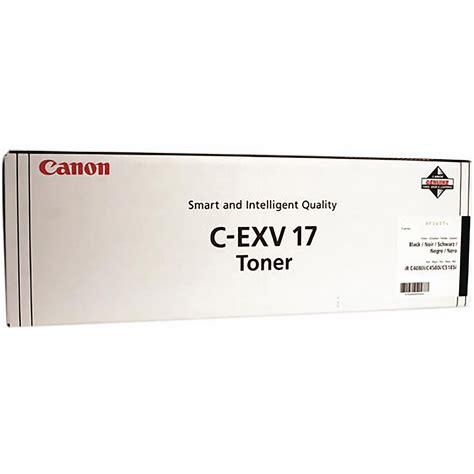 Cartridge Canon 5 Black Original product reviews canon c exv17 black toner cartridge