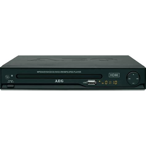 Dvd Player aeg dvd 4550 dvd player black from conrad