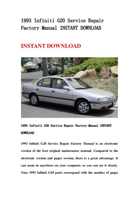 what is the best auto repair manual 1993 ford econoline e250 electronic throttle control service manual 1993 infiniti g repair manual free download service manual 2004 infiniti g