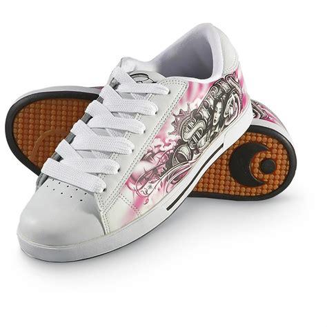 s osiris 174 serve skate shoes white pink 177875