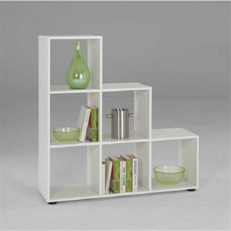 Compartment Shelf by Mega1 3 Tier Display Shelves In White With 6 Compartments
