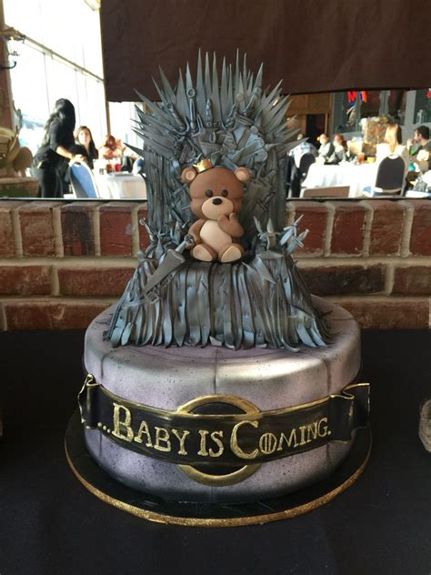 Baby Shower Throne by Of Thrones Baby Shower Cake Of Thrones Baby