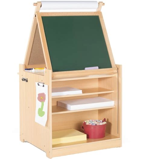 Desk To Easel Art Cart In Kids Desks Easel Desk For