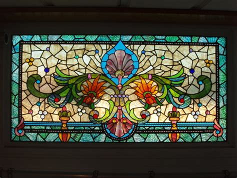 Stained Glass Countertops by Stained Glass Backsplash