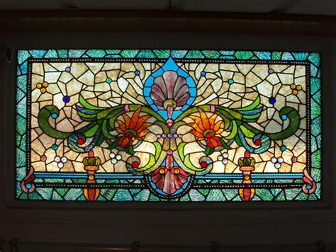 stained glass backsplash