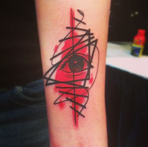 pop art tattoo pop by cavan infante eye tattoomagz