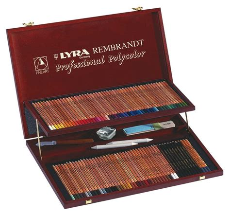 lyra colored pencils lyra rembrandt polycolor pencils set of