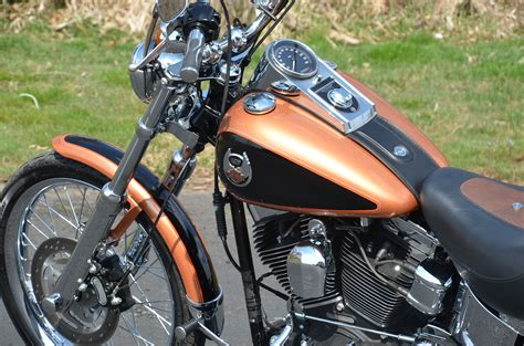 High Voltage Chrome Factory Seal 2008 105th anniversary harley davidson softail for sale on