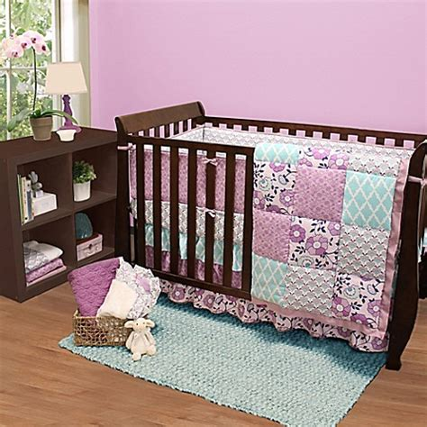 Bed Bath And Beyond Crib Bedding The Peanut Shell 174 Zoe Crib Bedding Collection Bed Bath Beyond