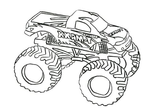 grave digger monster truck coloring pages  getcolorings