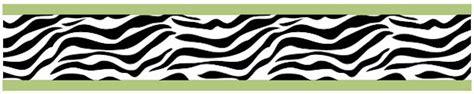 black and white zebra print wallpaper border zebra print wallpaper border black white lime green