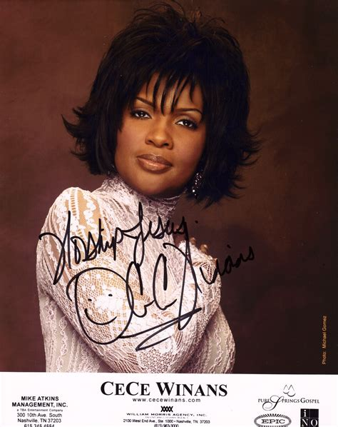 Throne Room Cece Winans by Cece Winans Autograph Autograph Collection