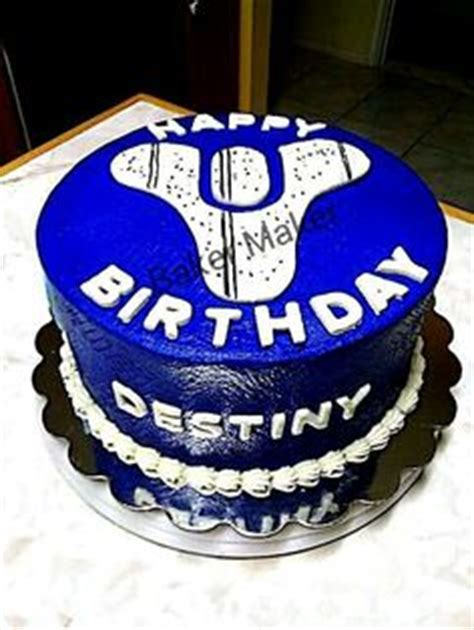 17 Best images about Destiny Game Cake   Birthday cakes