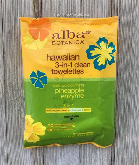 Alba Hawaiian Detox Sheet Mask by My Favorite Alba Botanica Products The Polished Pursuit