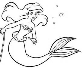 Disney Coloriages Ariel
