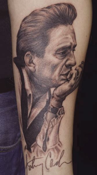 johnny tattoo pictures johnny cash tattoo picture